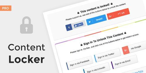 MyThemeShop - Content Locker Pro v1.0.11 - Premium WordPress Plugin