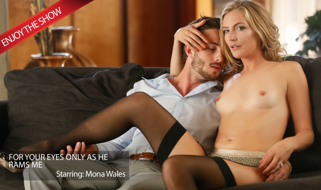 [NewSensations.com] Mona Wales (Hotwife Mona Enjoys Her Boy Toy / 23.02.2018) [2018 г., Hardcore, Blowjob, Blonde, Hotwife, MILF, Natural Tits, Tiny Tits, Facial, 1080p]