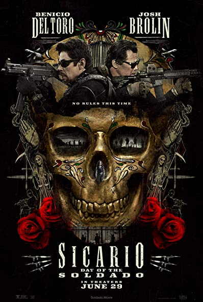 Sicario Day of the Soldado (2018) 1080p AMZN WEB-DL 10-bit x265 EAC3 6 0 Qman[UTR]