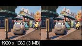 Тачки 3 3D / Cars 3 3D (Лицензия) Горизонтальная анаморфная стереопара