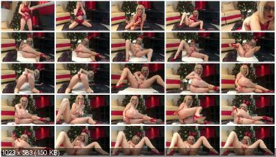 JosslynKane - Merry Xmas – Candies makes me cum and shit [Amateur Scat / 1.80 GB] FullHD 1080p (Shit Masturbation, Toys)
