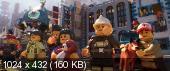 ЛЕГО Ниндзяго Фильм / The LEGO Ninjago Movie / 2017 / HDRip-AVC от Kaztorrents / iTunes