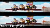 Тэд-путешественник и тайна царя Мидаса 3D / Tadeo Jones 2: El secreto del Rey Midas 3D  Вертикальная анаморфная стереопара