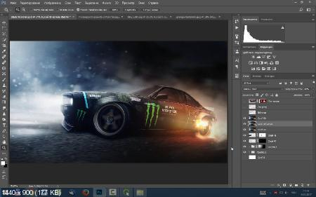 Умное коллажирование в Photoshop (2017) HDRip
