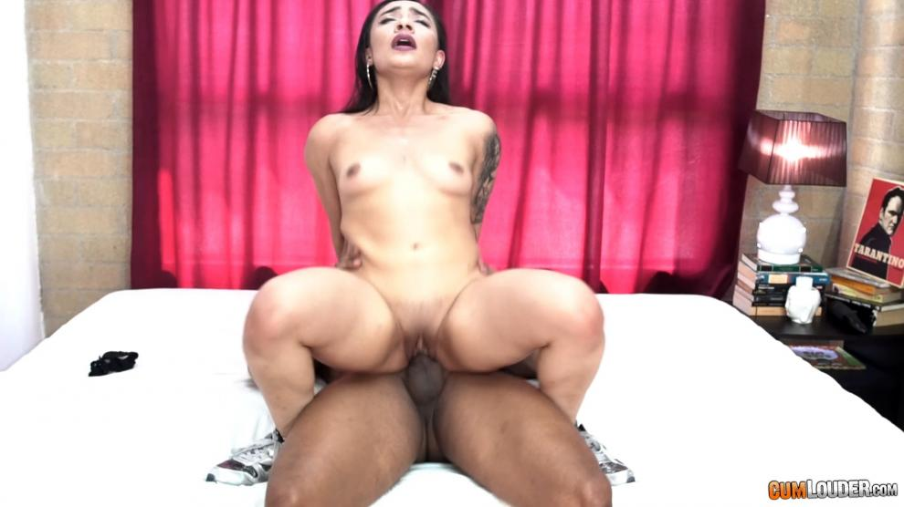 [CumLouder.com] Julieth Timote (Colombian CasTeen / 15.08.2018) [All Sex, Blowjob, Facial, 1080p]