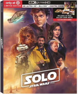 Хан Соло: Звёздные Войны. Истории / Solo: A Star Wars Story (2018)  Blu-Ray  2160p | 4K | HDR